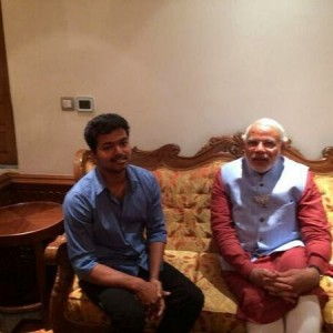 Ilayathalapathy Vijay meets Narendra Modi Photos Gallery in Coimbatore  (2)