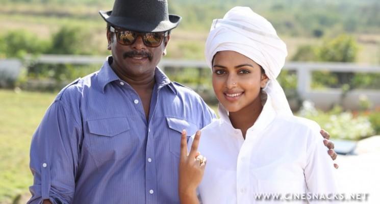 Director R.Parthiban's Kathai Thiraikathai Vasanam Iyakkam Movie Working Stills