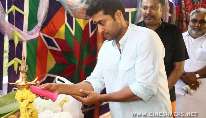 Studio Green Prodcution no 11 Starring Suriya Directed by Venkatprabhu Stills