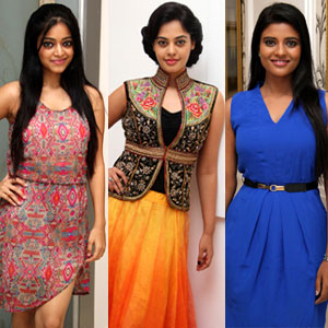 Bindhu, Janani & Aishwarya at Dreeam Cast Modelling Stills
