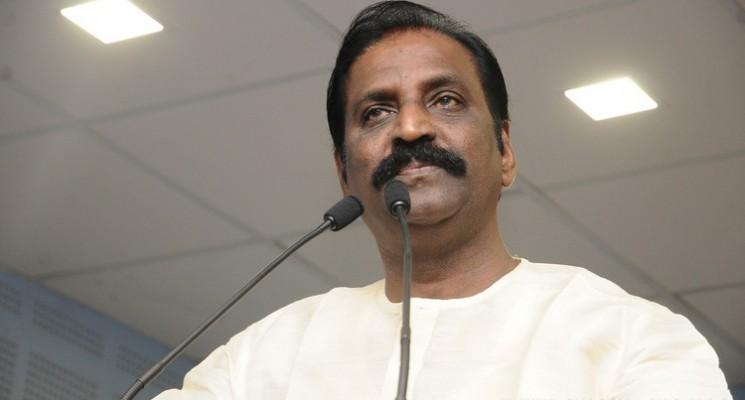 Lyricist Vairamuthu Press Meet Stills