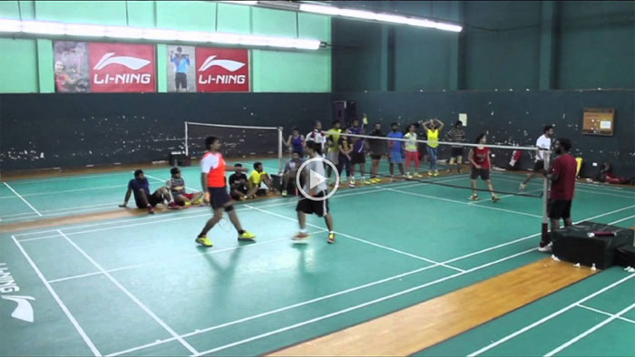 Indian Badminton Celebrity League Promo Video