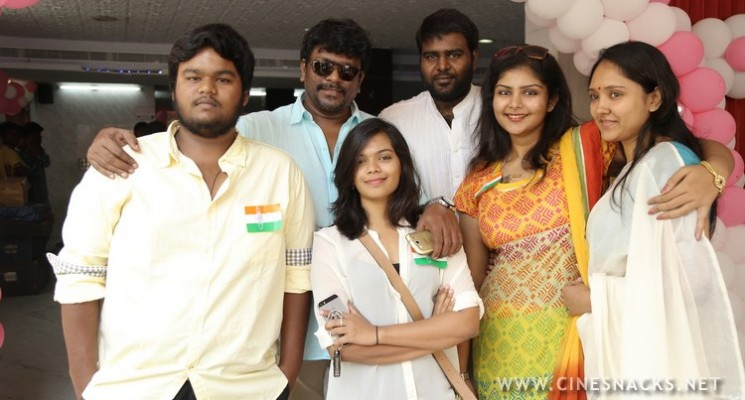 National Flag Hoisting Function By Actor Siva Kumar Stills