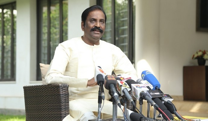 Kavingar Vairamuthu Press Meet Stills