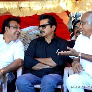 Tamil Film Industry Fasts Stills (90)