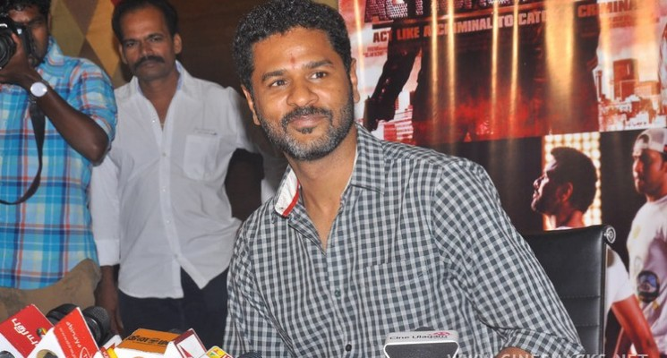 Actor Prabhu Deva Press Meet Photos