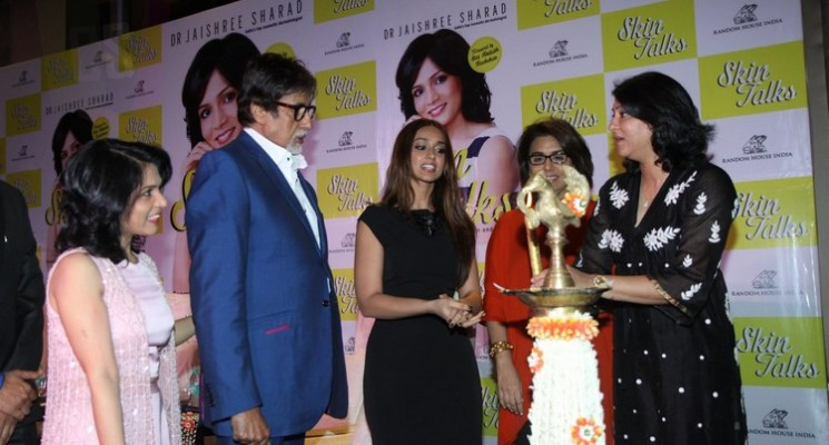Amitabh Bachchan Launches Dr Jaishree Sharad Skin Talks Book