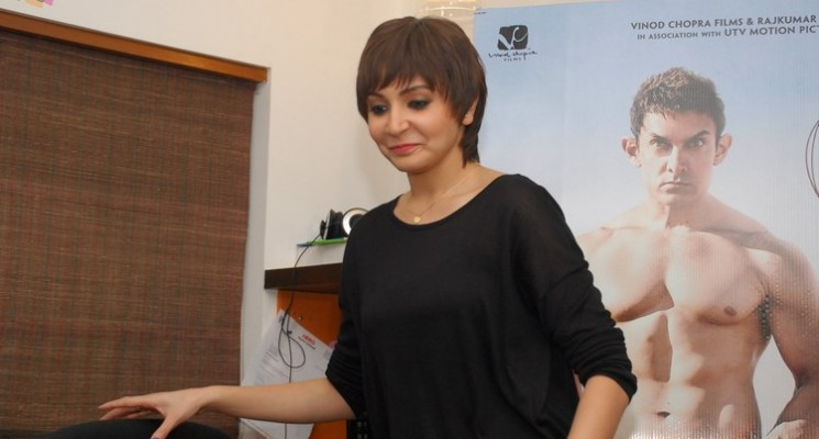 Anushka Sharma launches 'PK Movie posters'