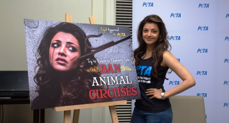 Kajal Agarwal For PETA Stills