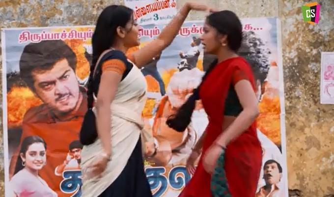 'தல' யா? 'தளபதி' யா? குடுமி பிடி சண்டையில் வர்ஷா – பிரியங்கா!
