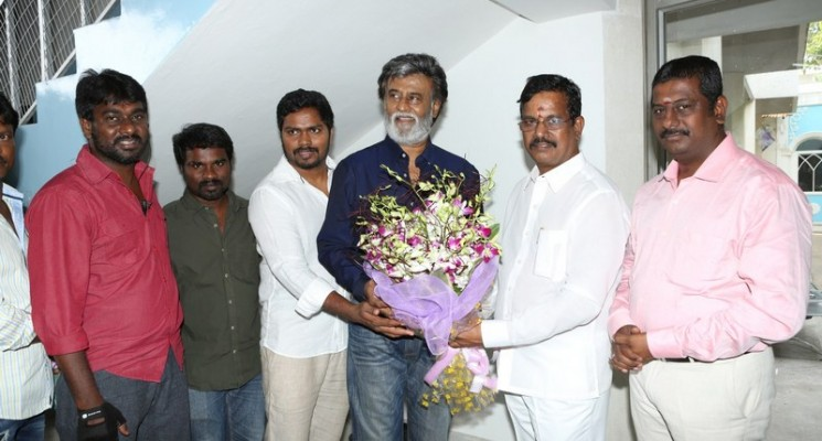 Kabali Movie Pooja Stills