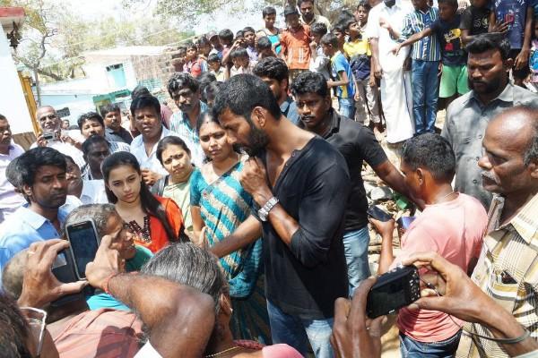விஷாலின் நல்ல நோக்கத்தை பாராட்டும் ராஜபாளையம் மக்கள்..!