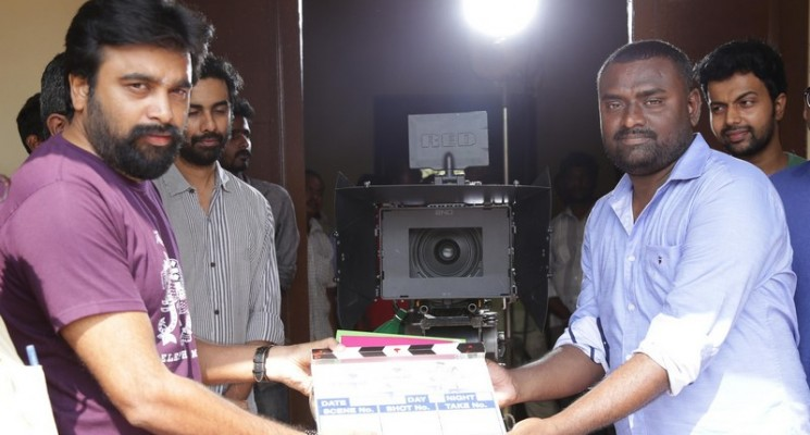 Actor Sasikumar New Movie Pooja Stills
