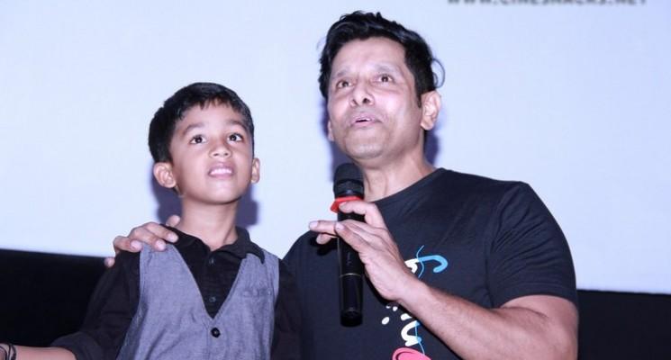 "Vikram's ""Spirit of Chennai"" Video Launch Photos"