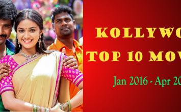 Top 10 Tamil Movies (Jan 2016 – Apr 2016) – Video