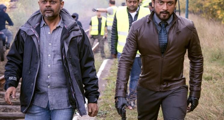 Suriya's 24 Movie Shooting Spot Working Photos