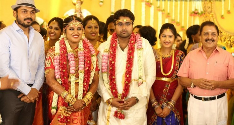 Director K.S.Ravikumar Daughter Wedding Stills