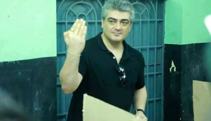 When Ajith got his middle finger inked