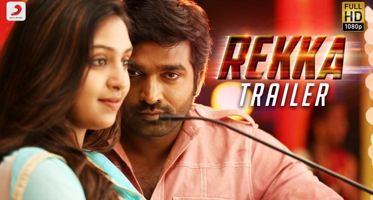 Rekka – Official Trailer | Vijay Sethupathi, Lakshmi Menon