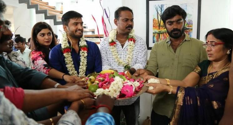 Santhanam Next Movie Pooja Stills