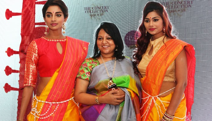 "Palam weaves classical music into Kanchivaram Sarees, Launches the ""Concert Collection"" this music season!"