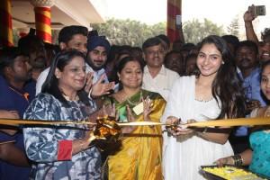 Actress Andrea inaugurated Carnival – Students Fair Stills