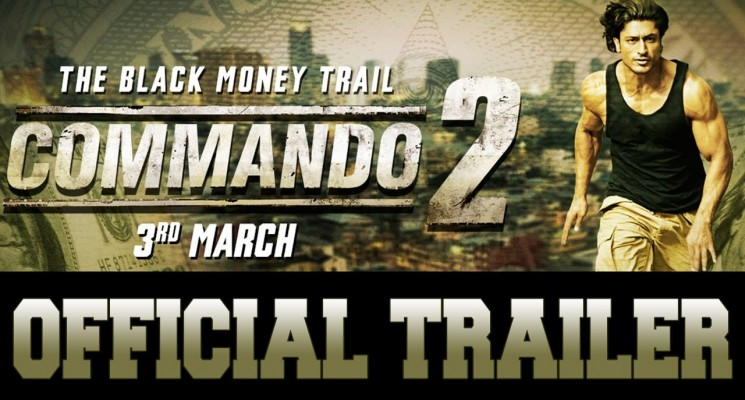 Commando 2 Official Tamil Trailer