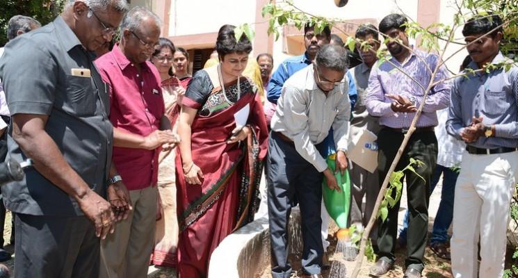 YMCA Madras & Soroptimist Chennai organises Tree Sapling Planting Event Photos