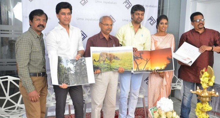 Madhan Kaarki Inaugurates Uma Jayabalan Photo Exhibition Stills