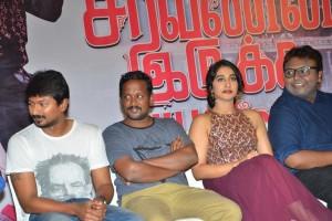 Saravanan Iruka Bayamen Success Meet Stills