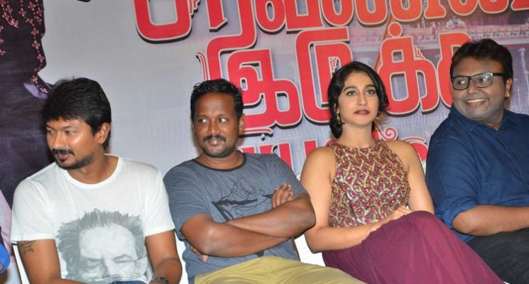 Saravanan Iruka Bayamen Success Meet Stills