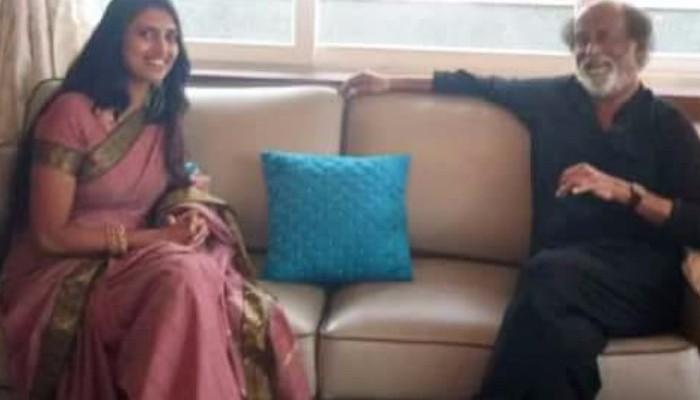 """""""நான் வர்றேன்.. இப்ப நீ போ"""" ; கஸ்தூரியை கிளப்பிவிட்ட ரஜினி..!"""
