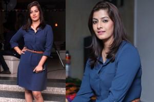 Actress Varalaxmi Sarathkumar at Miss O2 and O2 Man Event Stills