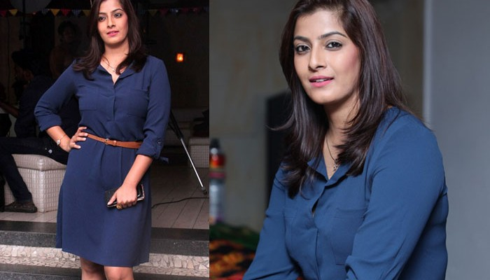 Actress Varalaxmi Sarathkumar at Miss O2 and O2 Man Event Stills