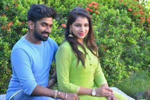 Music Director Dharan Kumar and Deekshitha Press Meet Photos