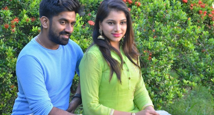 Music Director Dharan Kumar and Deekshitha Press Meet Photos