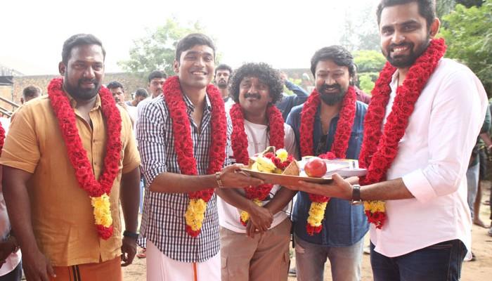 தனுஷ் – பாலாஜிமோகன் மாரி 2 படத்தின் பூஜை சென்னையில் நடைபெற்றது!