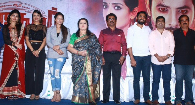 Nagesh Thiraiyarangam Press Meet