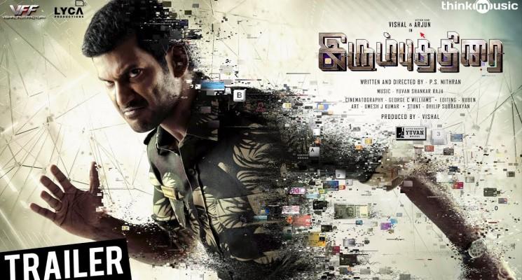 Irumbuthirai Official Trailer | Vishal, Arjun, Samantha