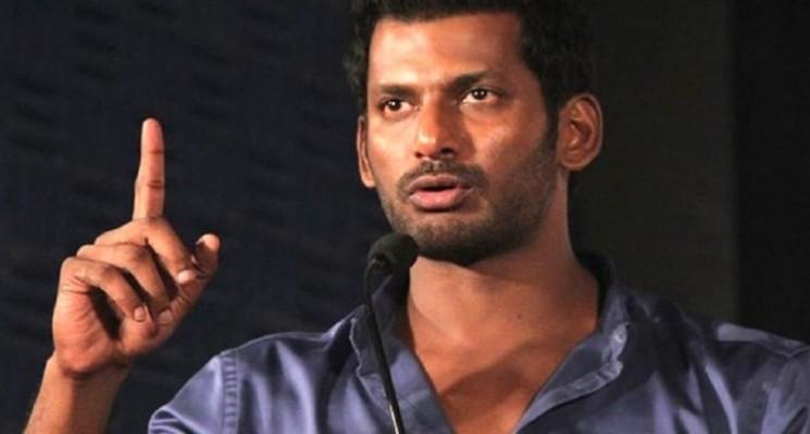 போதும் இதோடு நிறுத்திக்கோ…. சர்சசை நடிகைக்கு விஷால் கண்டனம்..!