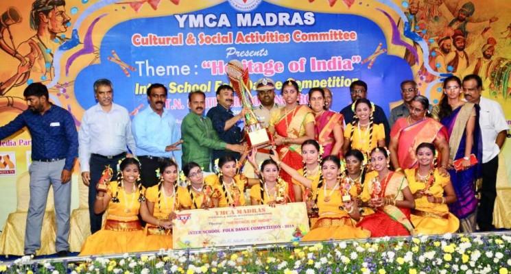 பிரமாண்டமாக நடைபெற்ற YMCA மெட்ராஸ் கலை மற்றும் பண்பாட்டு துறை நிகழ்ச்சி..!