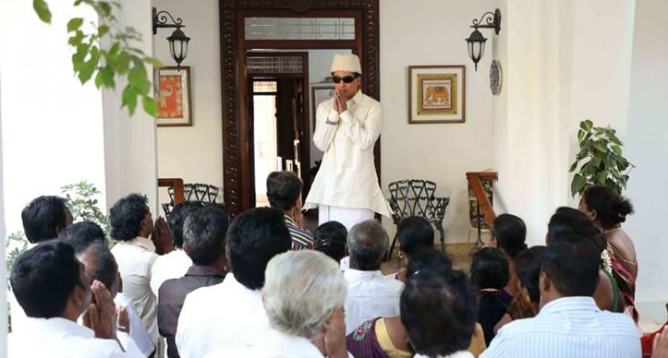 எம்.ஜி.ஆரின் மனைவி ஜானகி அம்மாவாக  நடிகை  ரித்விகா நடிக்கிறார்!