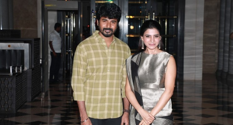 SeemaRaja Trailer Launch Photos