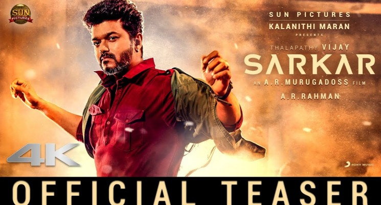 Sarkar – Official Teaser