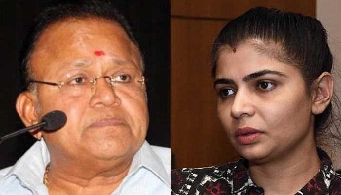 வேண்டுமென்றே சின்மயியை பழிவாங்குகிறாரா ராதாரவி..?