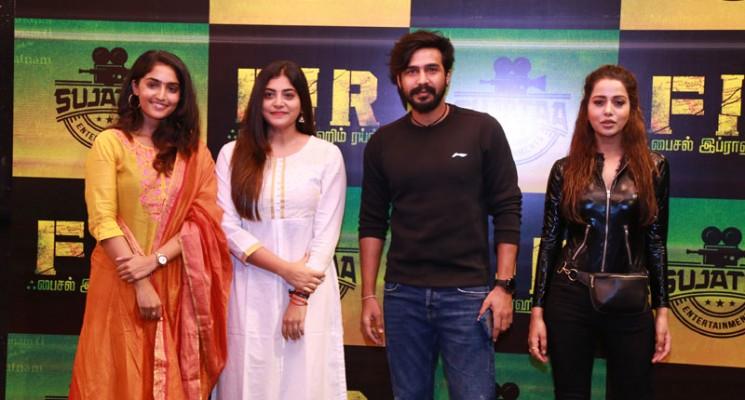 விஷ்ணு விஷாலுடன் மஞ்சிமா மோகன், ரைஸா வில்சன் நடிக்கும் 'FIR'..!