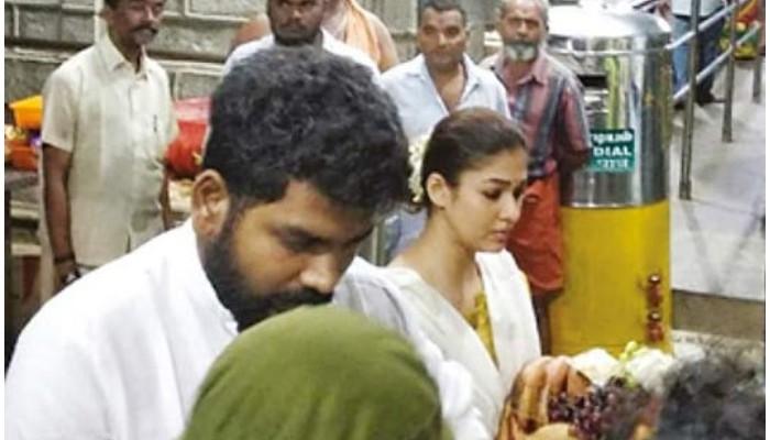 நயன்தாரா – விக்னேஷ் சிவன் சாமி தரிசனம்!