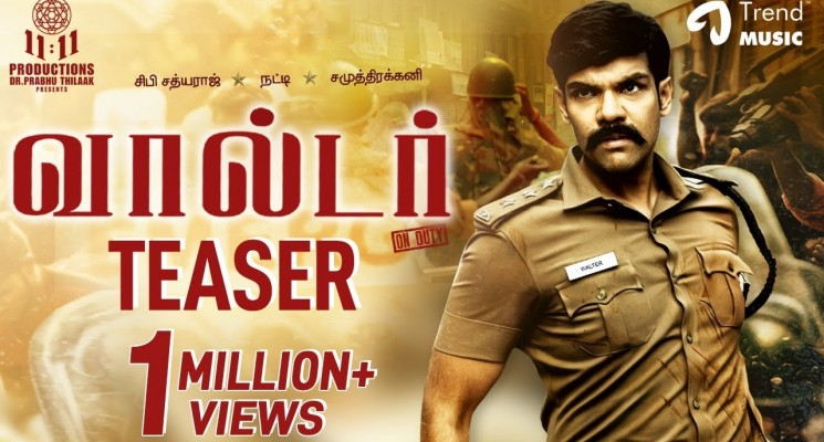 Walter Tamil Movie Official Teaser