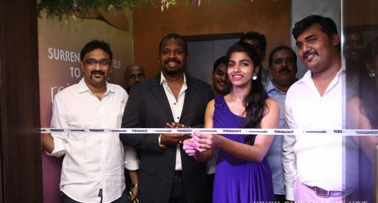 Actress Dhanshika Launches Essensuals By Toni & Guy at Mylapore