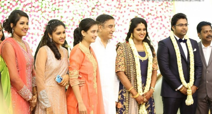 Director K.S.Ravikumar Daughter Wedding Reception Photos